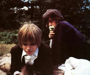 mick jagger and marianne faithfull image