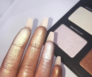 chanel, fashion, and glow image