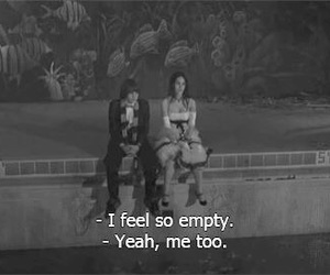 emotions, empty, and feelings image