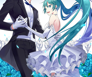vocaloid, hatsune miku, and kaito image