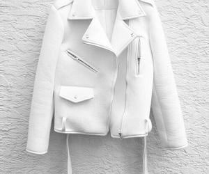 fashion, white, and jacket image