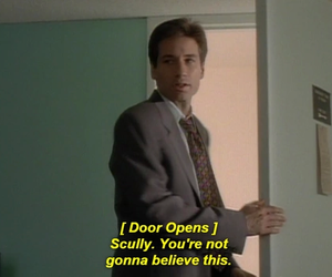 fox mulder, series, and the x files image