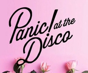 P!ATD, panic! at the disco, and pink image