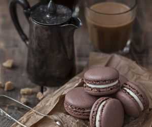 chocolate, Cookies, and coffee image