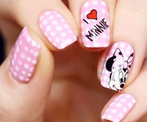 disney, minnie mouse, and pink image