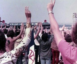 peace, hippie, and 60s image
