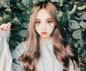 ulzzang, asian, and makeup image