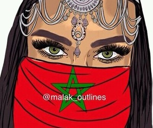 moroccan, morocco, and drawing image