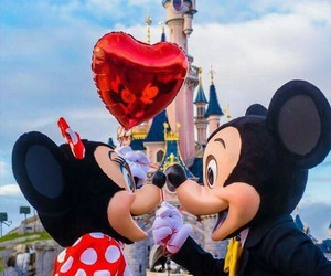 disney, love, and minnie image