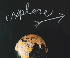 travel, explore, and world image