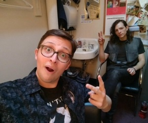 backstage, will roland, and broadway image