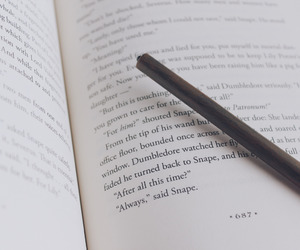 always, severus snape, and book image