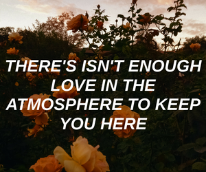 aesthetic, lyrics quotes, and atmosphere image