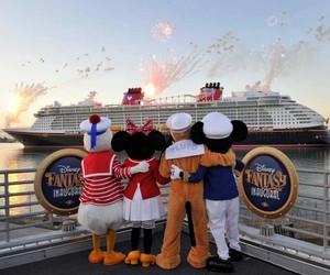 disney, cruise, and mickey image