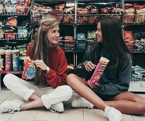 friends, girl, and tumblr image