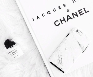chanel, white, and iphone image