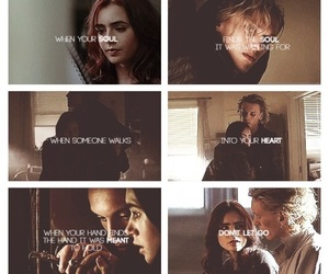 clary fray, the mortal instruments, and jace wayland image