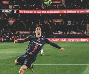 zlatan ibrahimovic and paris saint germain image