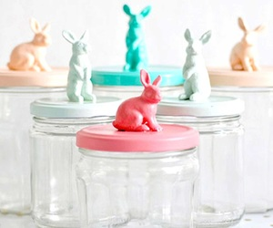 diy, bunny, and jar image
