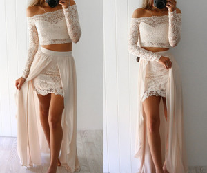 cheap party prom dress and custom long prom dress image