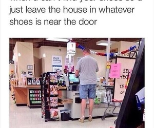 funny, lol, and shoes image