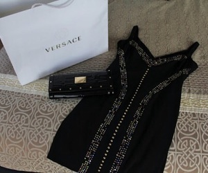 fashion, dress, and Versace image