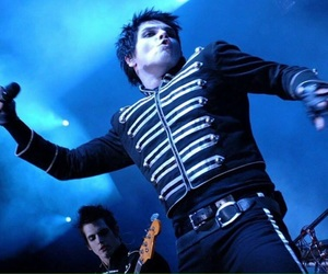 gerard way, my chemical romance, and bands image