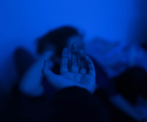 pale, aesthetic, and blue image