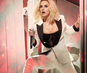 beautiful, blond hair, and katy perry image
