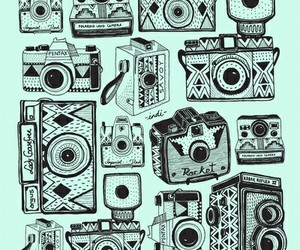 camera, wallpaper, and hipster image