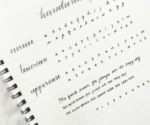 letras, notas, and cuadernos image