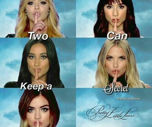 pll, pretty little liars, and series image