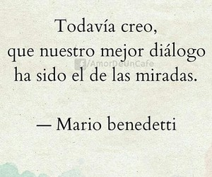 frases, frases de amor, and miradas image