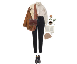 fall, grunge, and outfit image
