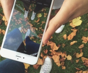 autumn, iphone, and tumblr image