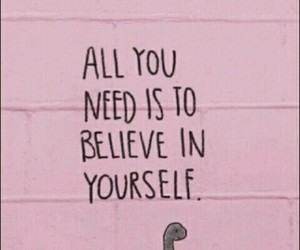 pink, quotes, and believe image
