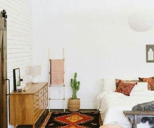 bedroom, cactus, and design image
