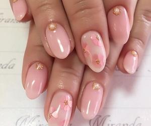 girl, nail, and nail art image