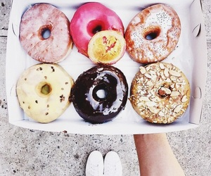 donuts, food, and beautiful image