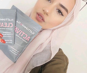 beauty, fashion, and hijab image