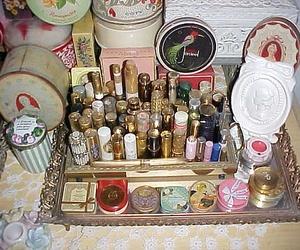 makeup and vintage image