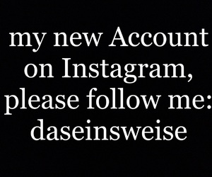 account, instagram, and follow image