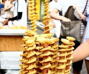 food, korean, and street food image
