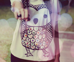 owl, shirt, and ring image