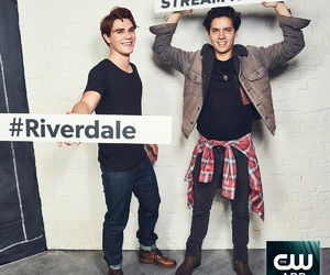 riverdale, cole sprouse, and k. j. apa image