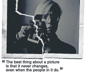 andy warhol, picture, and quotes image