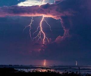 sky, nature, and storm image