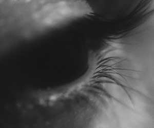 black and white, boho, and eye image
