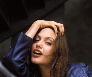 Angelina Jolie, angelina, and black and white image