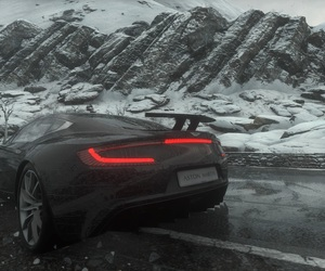 aston, black, and cars image